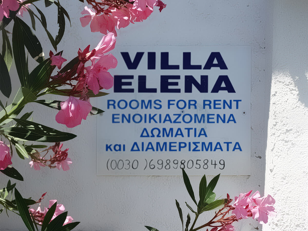 Villa Elena in Mirtos, South Crete