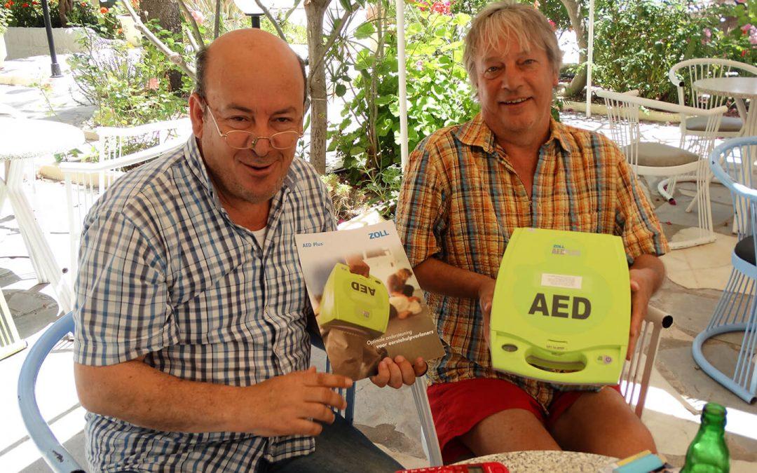 AED in Mirtos